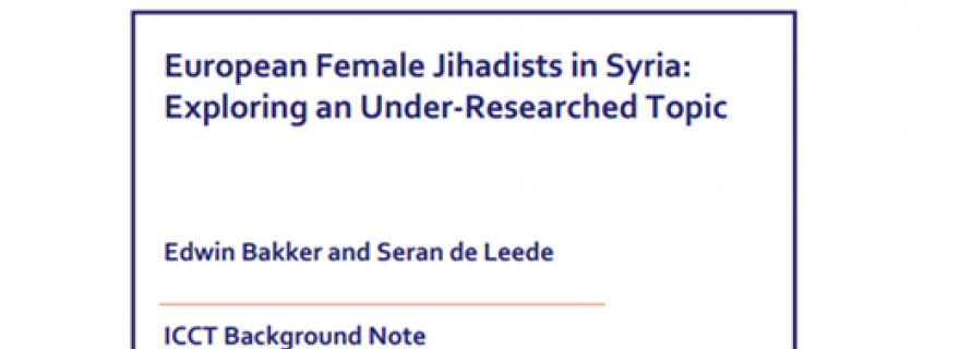European Female Jihadists in Syria