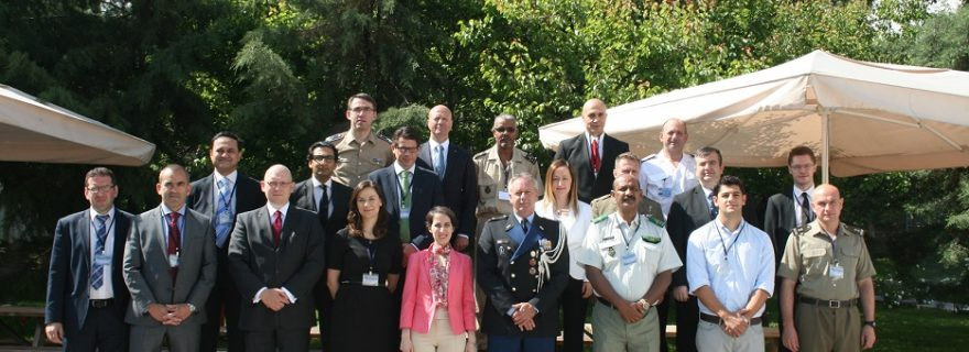 Meeting at NATO's COE-DAT on Foreign Fighters: push and pull factors