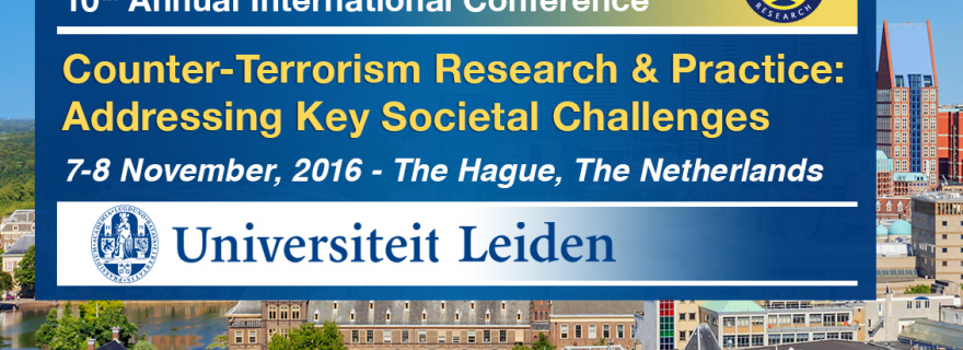Fight Terrorism with Knowledge: STR 2016 Conference, 7-8 November in The Hague