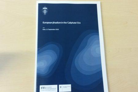Conference on European Jihadism in the 'Caliphate' Era
