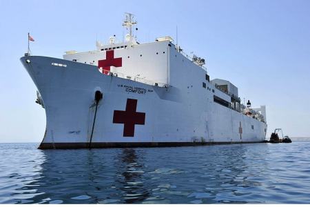 Pandemics and climate change mean it's time to consider ANZUS hospital ships