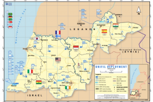 UNIFIL Area of Operations